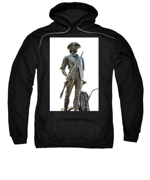 Minute Man Statue Concord Massachusetts Sweatshirt