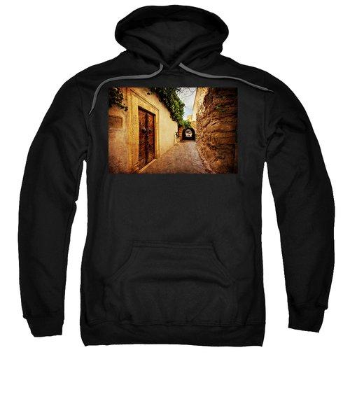 Narrow Street In Souk / Hammamet Sweatshirt