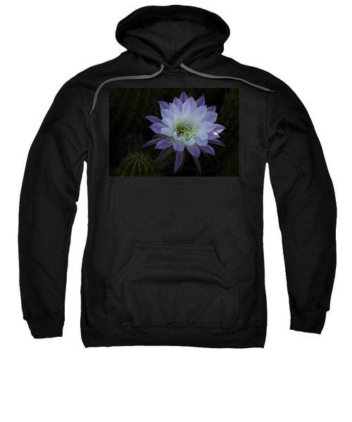 Night Blooming Cactus  Sweatshirt