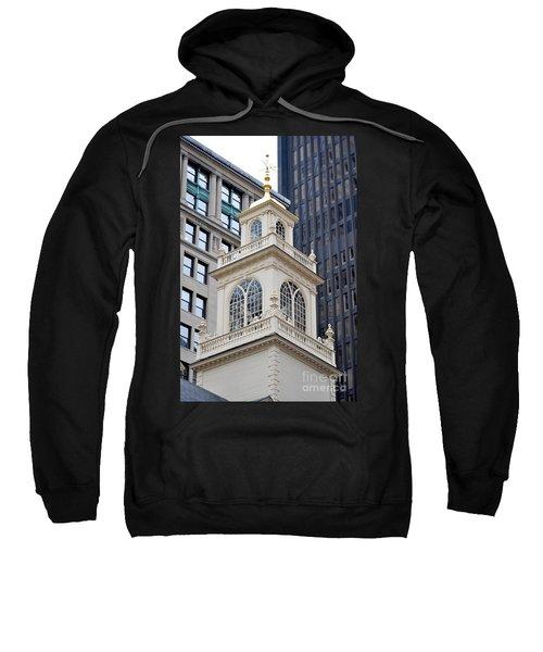 Old State House Boston Ma Sweatshirt