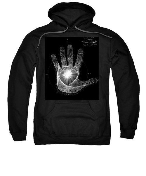 Quantum Hand Through My Eyes Sweatshirt