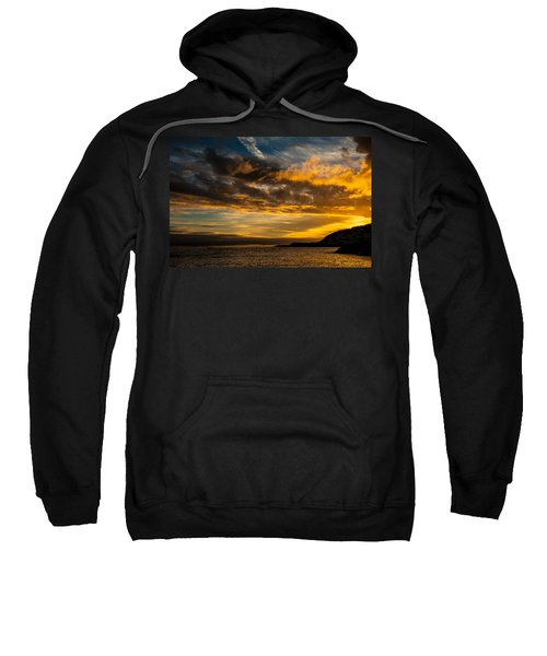 Sweatshirt featuring the photograph Sunset Over The Ocean  by Joseph Amaral