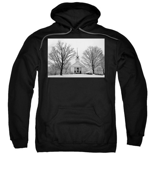 Winter Snow Scene Sweatshirt