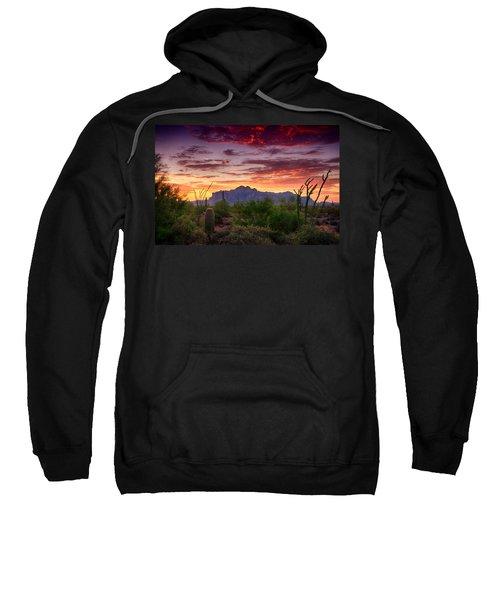 A Superstition Sunrise  Sweatshirt