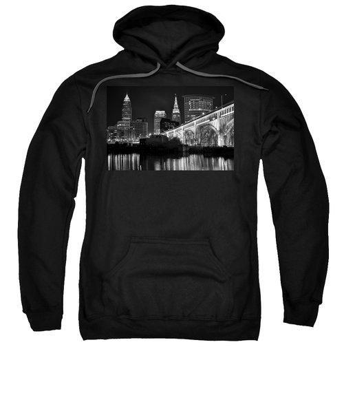 Black And White Cleveland Iconic Scene Sweatshirt