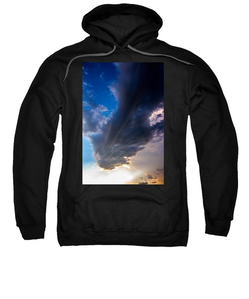 Late Afternoon Nebraska Thunderstorms Sweatshirt