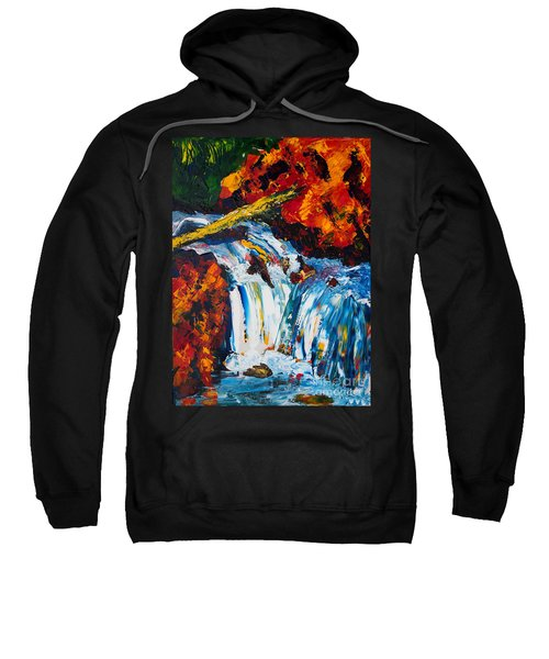 Log And Waterfall Sweatshirt