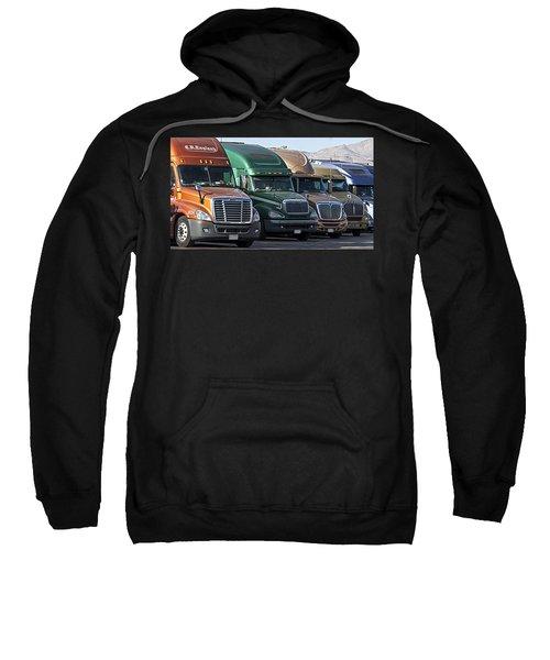 Semi Truck Fleet Sweatshirt
