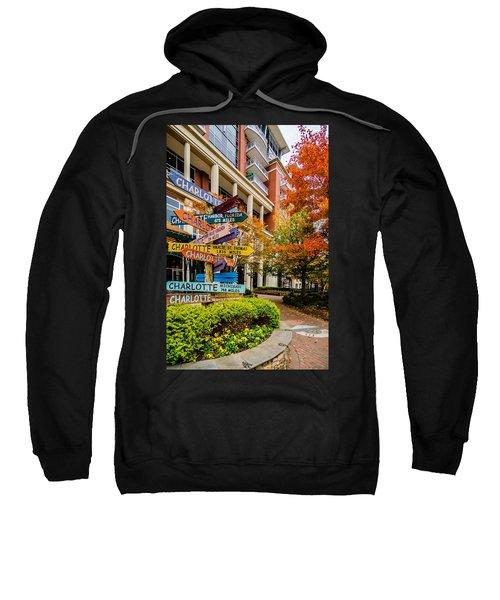 Charlotte City Skyline Autumn Season Sweatshirt