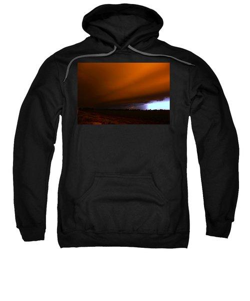 Late Night Nebraska Shelf Cloud Sweatshirt