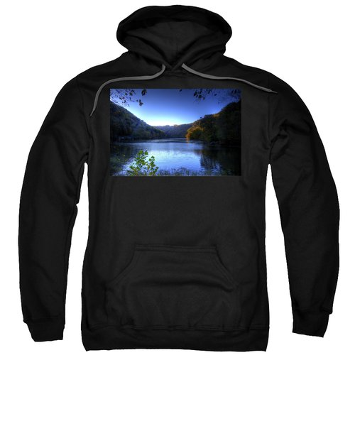 A Blue Lake In The Woods Sweatshirt