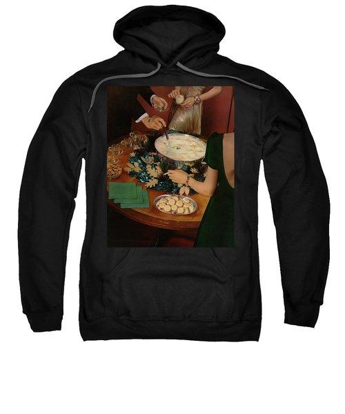 A Bowl Of Eggnog Sweatshirt
