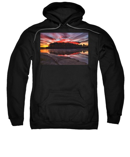 A Christmas Eve Sunrise Sweatshirt