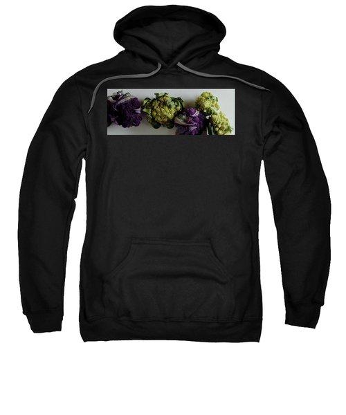 A Group Of Cauliflower Heads Sweatshirt