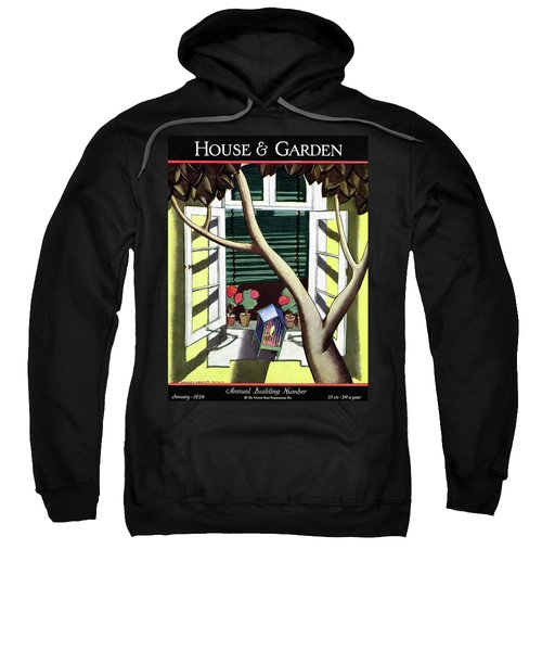 A House And Garden Cover Of A Birdcage Sweatshirt