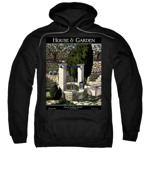 A House And Garden Cover Of A Well Sweatshirt