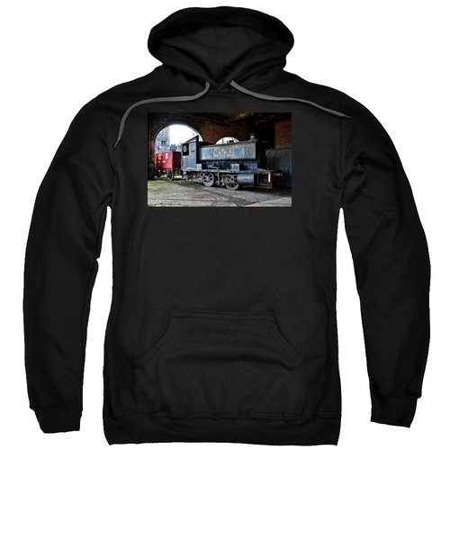 A Locomotive At The Colliery Sweatshirt