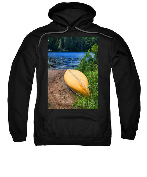 A Perfect Day For A Paddle In The Wilderness Sweatshirt