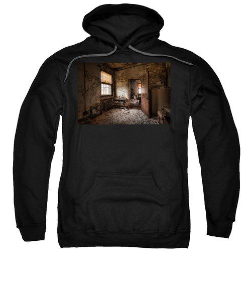 Abandoned Asylum - Haunting Images - What Once Was Sweatshirt
