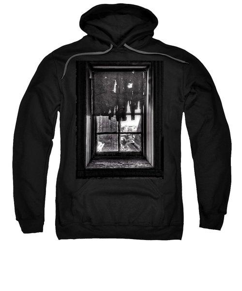 Abandoned Window Sweatshirt by H James Hoff