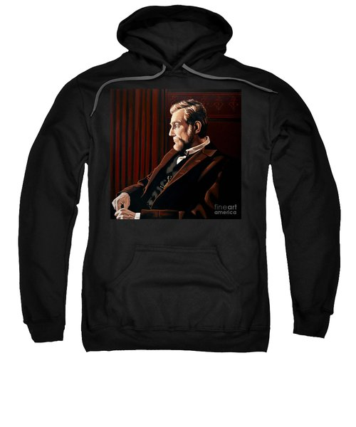 Abraham Lincoln By Daniel Day-lewis Sweatshirt