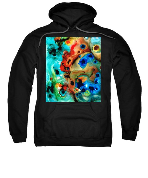 Abstract 4 - Abstract Art By Sharon Cummings Sweatshirt