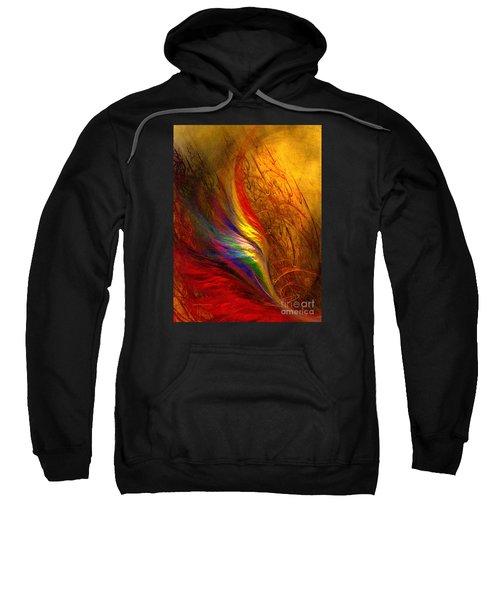 Abstract Art Print Sayings Sweatshirt