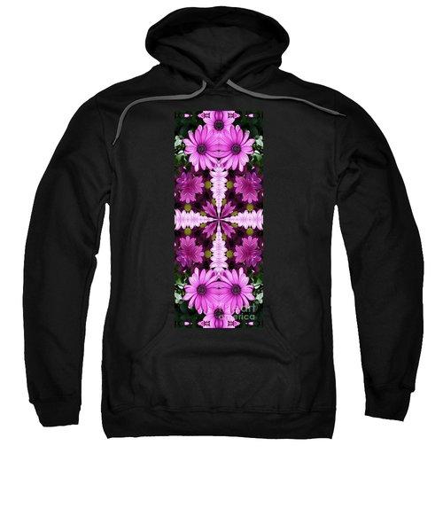 Abstract Daisies Sweatshirt