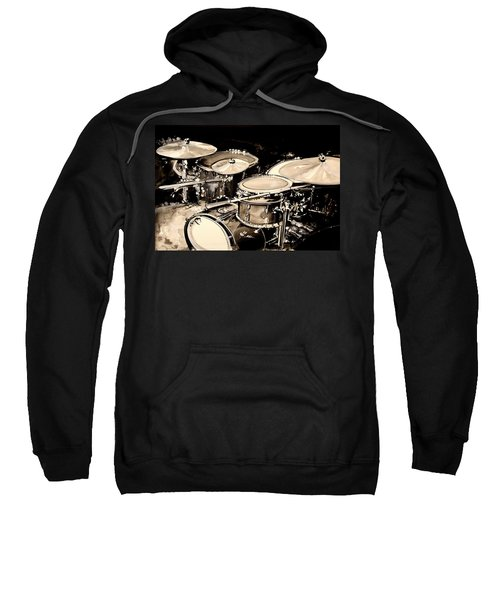 Abstract Drum Set Sweatshirt