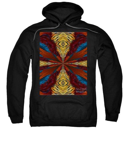 Abstract Feathers Sweatshirt