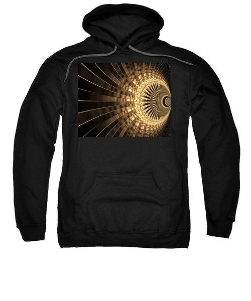 Abstract Artwork Gold 1 Sweatshirt