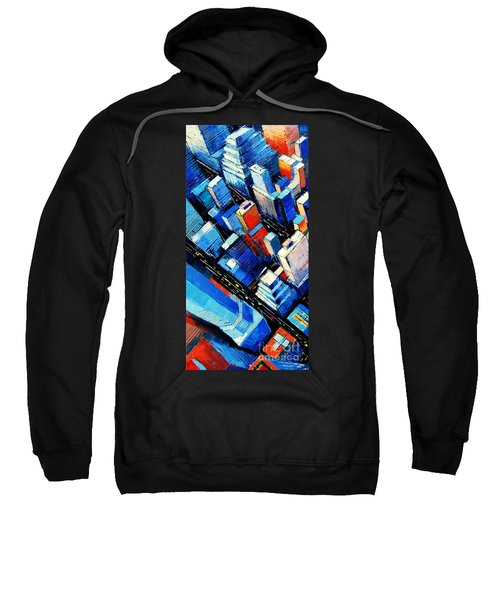 Abstract New York Sky View Sweatshirt