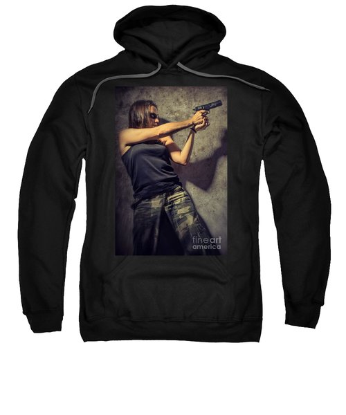 Action Woman I Sweatshirt