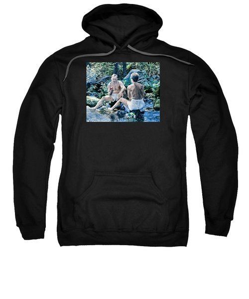 Adam And Eve Sweatshirt