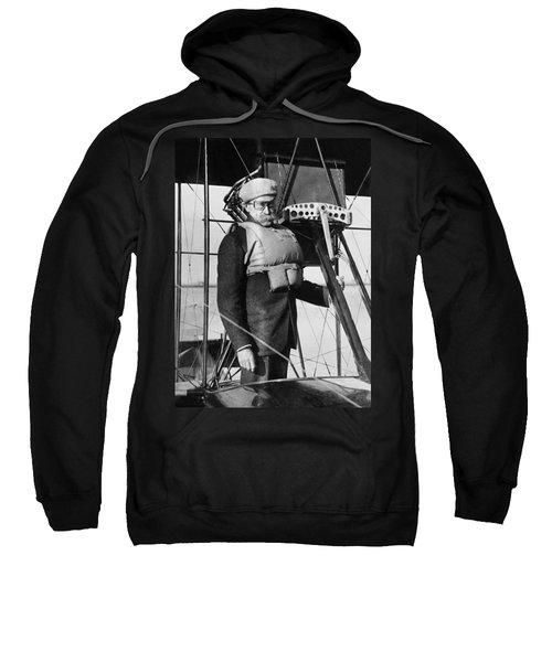Admiral Peary Goes Flying Sweatshirt
