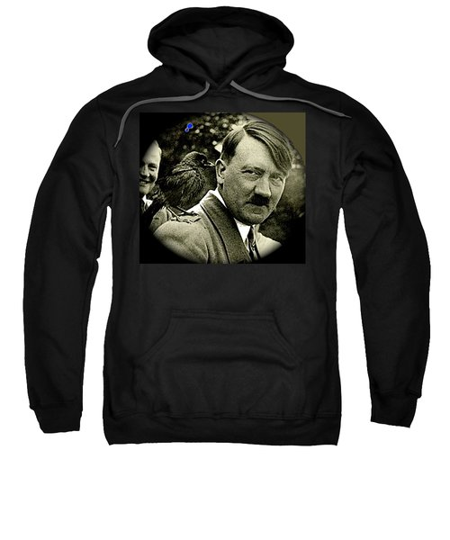 Adolf Hitler And A Feathered Friend C.1941-2008 Sweatshirt