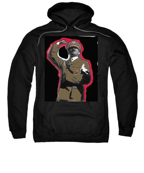 Adolf Hitler Saluting 2 Circa 1933-2009 Sweatshirt