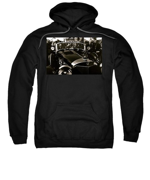 Adolf Hitler's 1941 Mercedes-benz 770-k Touring Car Sold At Auction Scottsdale Arizona 1973 Sweatshirt