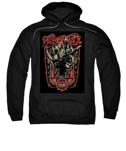 Aerosmith - Let Rock Rule World Tour Sweatshirt by Epic Rights