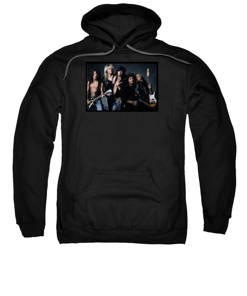 Aerosmith - Let The Music Do The Talking 1980s Sweatshirt by Epic Rights