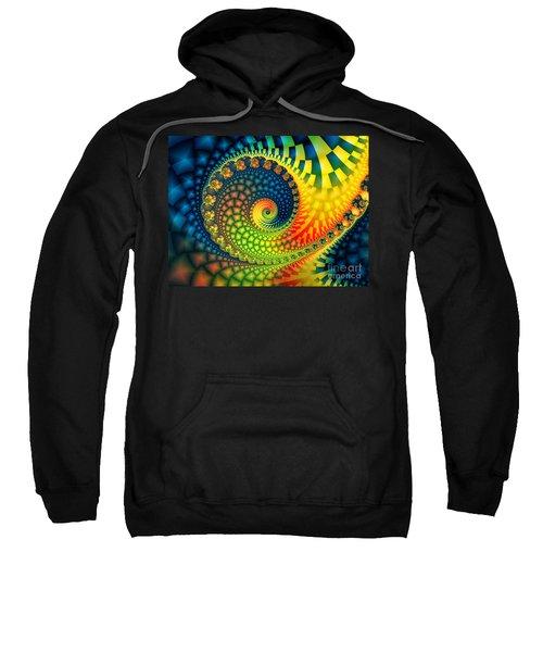 After The Rain-fractal Art Sweatshirt