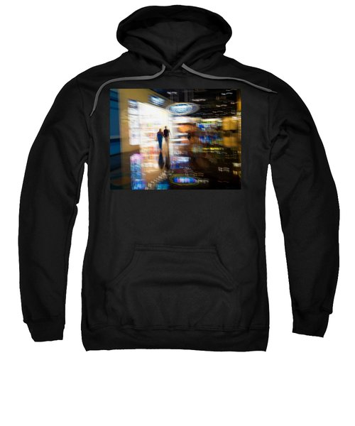 Sweatshirt featuring the photograph After The Show by Alex Lapidus