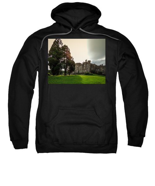 Sweatshirt featuring the photograph Afternoon Sun Over Markree Castle by James Truett