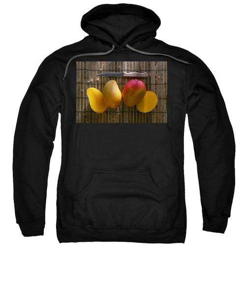 Agriculture - Sliced Sunrise Mango Sweatshirt