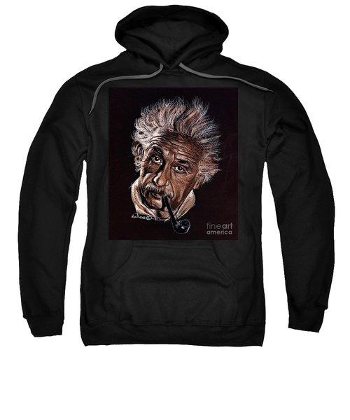 Albert Einstein Portrait Sweatshirt