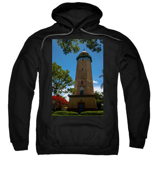 Alhambra Water Tower Of Coral Gables Sweatshirt
