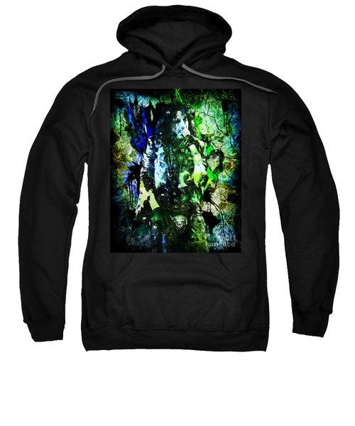 Alice Cooper - Feed My Frankenstein - Original Painting Print Sweatshirt