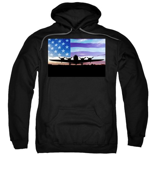 American B-17 Flying Fortress Sweatshirt