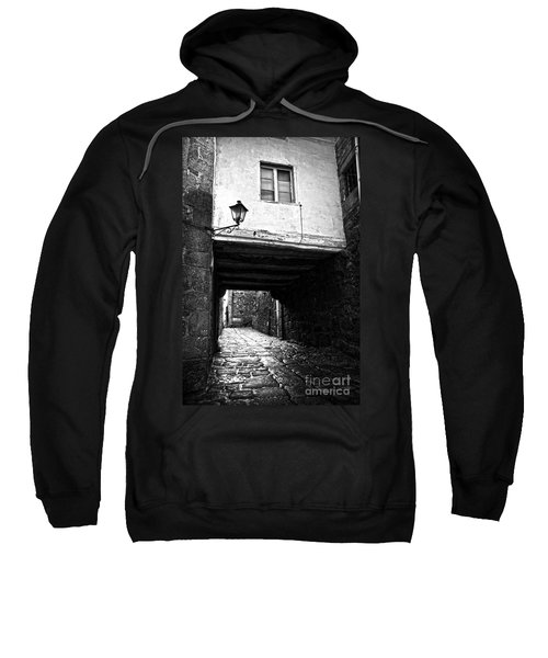 Ancient Alley In Tui Bw Sweatshirt