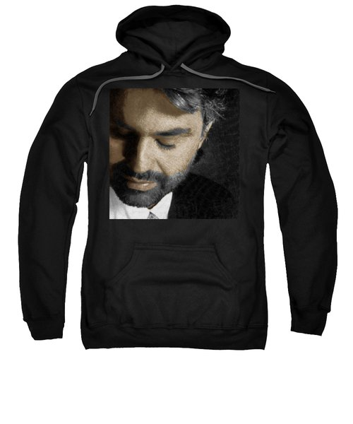 Andrea Bocelli And Square Sweatshirt